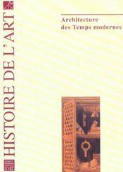 Histoire De L'Art N.54 ; Architecture Des Temps Modernes - Intérieur - Format classique