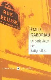 Le Petit Vieux Des Batignolles - Intérieur - Format classique