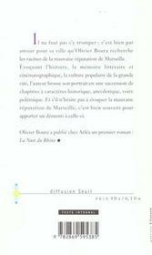 Marseille Ou La Mauvaise Reputation - 4ème de couverture - Format classique
