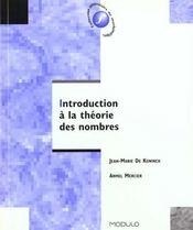 Introduction A La Theorie Des Nombres - Intérieur - Format classique