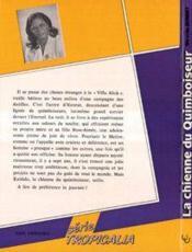 Chienne Du Quiboiseur - 4ème de couverture - Format classique