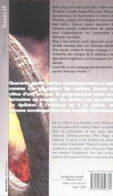 Ingenieurs De L'Anneau-Monde (Les) - 4ème de couverture - Format classique