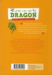 Une vie de dragon ; attention, dragon d'appartement - 4ème de couverture - Format classique