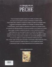Le Grand Atlas De La Peche - 4ème de couverture - Format classique