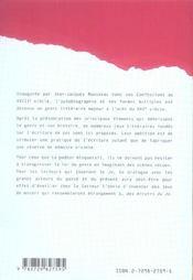 Jeux Autobiographiques S'Ecrire Au Fil De L'Existence - 4ème de couverture - Format classique