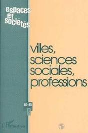 Villes Sciences Sociales - Couverture - Format classique