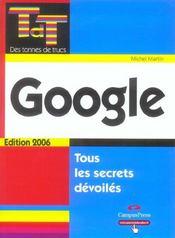 Google - Intérieur - Format classique