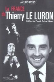 La france de thierry le luron - Couverture - Format classique