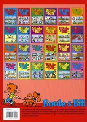 Boule & Bill t.2 - 4ème de couverture - Format classique
