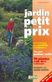 Un Beau Jardin A Petit Prix - Couverture - Format classique