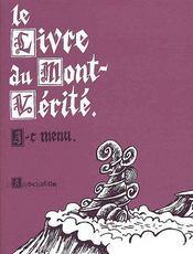 Le livre du Mont-Vérité - Couverture - Format classique