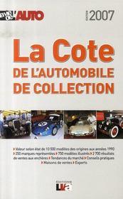La cote de l'automobile de collection (édition 2007) - Intérieur - Format classique