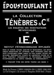 Bienvenue à l'I.E.A! - 4ème de couverture - Format classique