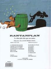 Rantanplan t.8 ; bêtisier t.3 - 4ème de couverture - Format classique
