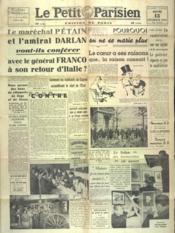Petit Parisien Edition De Paris (Le) du 13/02/1941 - Couverture - Format classique