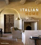 Italian Home /Anglais - Couverture - Format classique