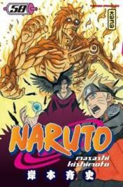 Naruto t.58 - Couverture - Format classique
