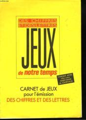 Carnet De Jeux Pour L'Emission Des Chiffres Et Des Lettres. - Couverture - Format classique