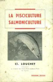 La Pisciculture Salmoniculture - Couverture - Format classique