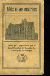 Metz Et Ses Environs - Couverture - Format classique