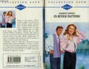 Un Retour Inattendu - Intimate Relations - Couverture - Format classique