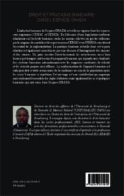 Droit et pratique bancaire dans l'espace OHADA - Couverture - Format classique