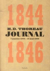 Vente  Journal 1844-1846  - Henry David Thoreau