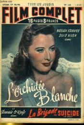 Stars Et Films - Tous Les Jeudis Film Complet N° 169 - L'Orchidee Blanche - La Brigade Du Suicide - Couverture - Format classique
