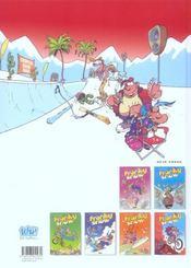 Franky snow t.7 - 4ème de couverture - Format classique
