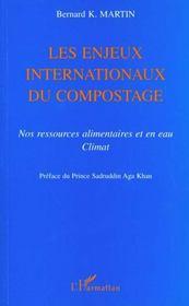 Les Enjeux Internationaux Du Compostage. Nos Ressources Alimentaires Et En Eau Climat - Intérieur - Format classique