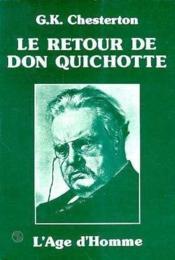 Retour De Don Quichotte (Le) - Couverture - Format classique