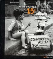 Je me souviens du 15e arrondissement - Couverture - Format classique
