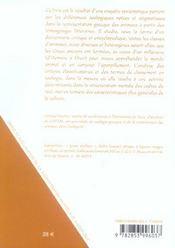 Classes Zoologiques En Grece Ancienne (Les) D'Homere A Elien (Viii Av .-Iii Ap. J.-C.) - 4ème de couverture - Format classique