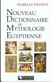 Nouveau Dict Mythologie Egyptienne - Intérieur - Format classique