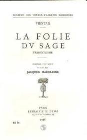 La Folie Du Sage - Couverture - Format classique