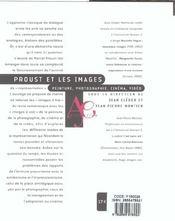 Proust Et Les Images - 4ème de couverture - Format classique