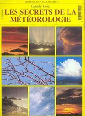 Les Secrets De La Meteo - 4ème de couverture - Format classique