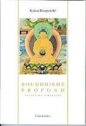 Bouddhisme Profond - Couverture - Format classique