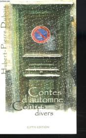 Contes D'Automne Contes Divers - Couverture - Format classique