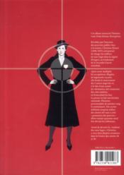 L'insoumise - 4ème de couverture - Format classique