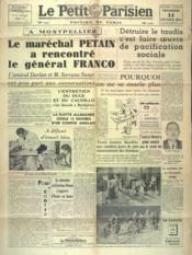 Petit Parisien Edition De Paris (Le) du 14/02/1941 - Couverture - Format classique