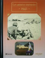 Les années-mémoires 1942 - Couverture - Format classique