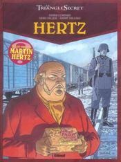 Le triangle secret ; Hertz t.1 - Intérieur - Format classique