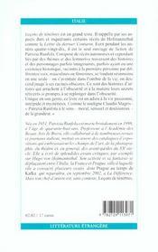 Lecons De Tenebres - 4ème de couverture - Format classique