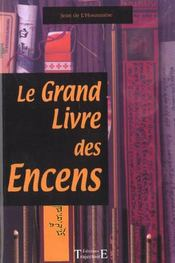 Le grand livre des encens - Intérieur - Format classique