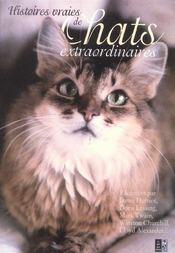 Histoires vraies de chats extraordinaires - Intérieur - Format classique