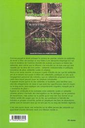Les Solidarites 2. Du Terroir A L'Etat. Colloque De Bordeaux, 20 Et 2 1 Juin 2002 - 4ème de couverture - Format classique