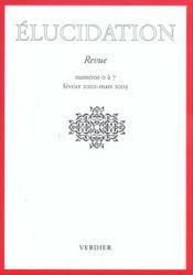Elucidation N.O/A/7 - Intérieur - Format classique