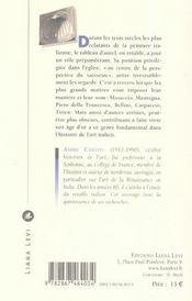 Histoire du retable italien des origines à 1500 - 4ème de couverture - Format classique