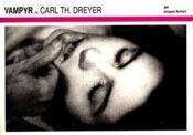 Vampyr De Carl Th. Dreyer - Couverture - Format classique